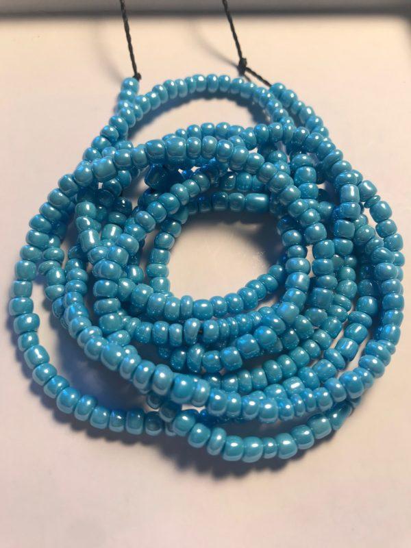 Blue Pearl Waist Bead