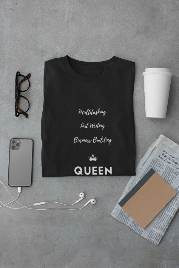 CP Designs Unlimited - Vendor - store extension - Business Building Queen tshirt