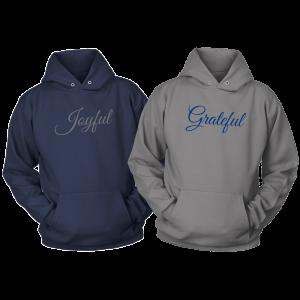 Joyful & Grateful Hoodie Set by CP Designs Unlimited