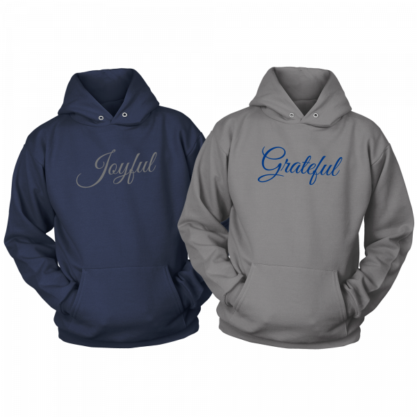 Joyful & Grateful Hoodie Set by CP Designs Unlimited