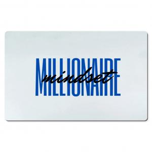 Millionaire Mindset deskmat by CP Designs Unlimited
