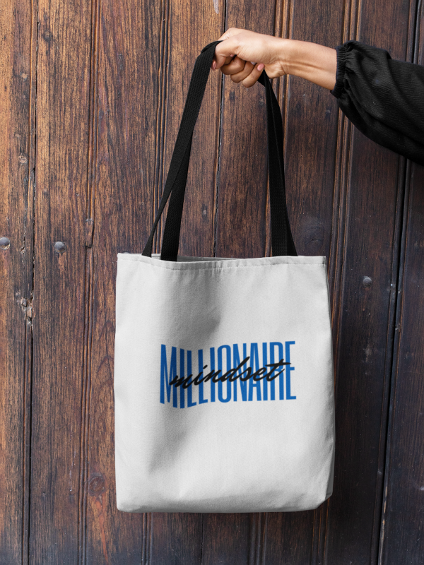 Millionaire Mindset Tote Bag