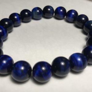 Men's Blue Tiger's Eye Bracelet